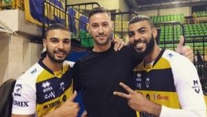 Бивш волейболист на Модена започна с Марек (снимка)