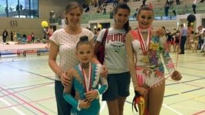 Сестрата на Весела Димитров треньор на ансамбъла на Швейцария