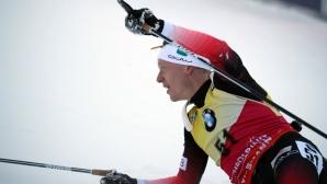 Йоханес Тингес Бьо с 8-а победа за сезона, Красимир Анев e 14-и в спринта в Руполдинг