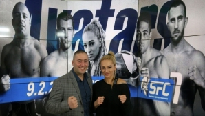 Албена Ситнилска и Георги Анадолов в студиото на Sportal преди SFC 7 Avatars (видео)