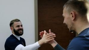 """Лудогорец тренира във фитнеса, Спас Делев при """"орлите"""""""