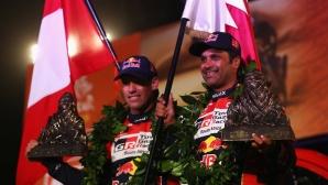 Шампионът на Дакар Ал-Атия: Наистина съм щастлив да спечеля с Toyota