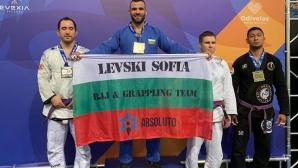 Стилиян Георгиев ликува с европейската титла по бразилско джу-джицу