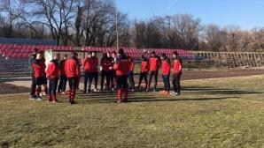 Карнобат започна подготовка с 19 играчи