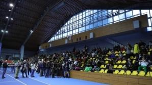 Започна Държавното лично първенство по тенис за мъже в зала