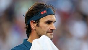 Федерер: Загубих от по-добър играч
