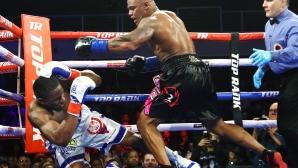 Палачът на Кобрата в Пекин го предизвика и на профи ринга