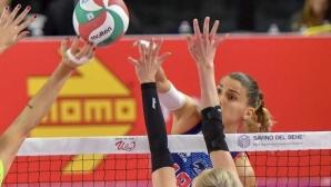 Елица Василева и Скандичи на полуфинал за Купата на Италия