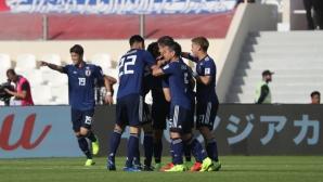 Япония се класира за четвъртфиналите за Купата на Азия