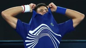 Джокович пребори 22-годишен руснак за 10-ия си 1/4-финал в Мелбърн