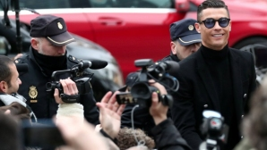 Кристиано се призна за виновен и си тръгна (видео + галерия)