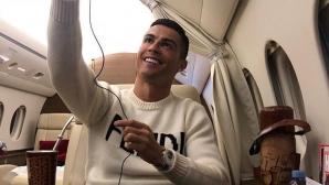 """Линекер """"насоли"""" Роналдо заради селфи в самолет"""
