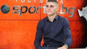 Преслав Боруков игра 20 минути за мъжкия отбор на Шефилд Уензди