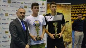 Донски и Лазаров са държавни шампиони на двойки