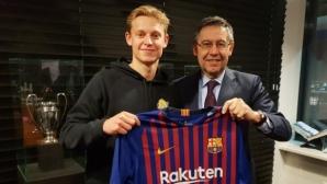 Официално: Барселона осъществи дългоочакван трансфер