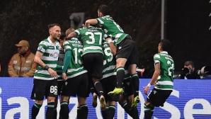Спортинг се добра с дузпи до финала за Купата на лигата в Португалия (видео)