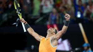 Финалистът Надал: Страхотно е, защото наскоро трябваше да откажа игра в Бризбън