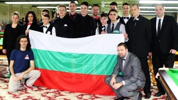 Изпращаме 7 състезатели и двама съдии на Европейското първенство по снукър