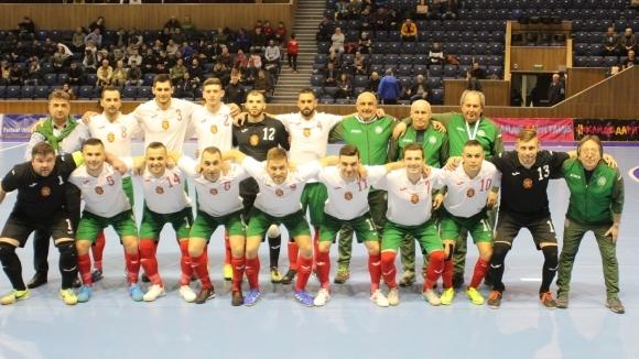 Националният отбор по футзал победи Естония