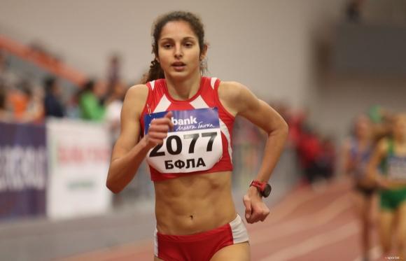 Силвия Георгиева и Иво Балабанов №1 на 1500 метра