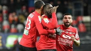 Гинган е на финал за Купата на Франция след дузпи срещу Монако