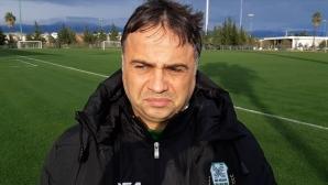 Николай Митов иска по-бърз футбол от играчите на Хебър