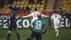 """Жардим започна мисия """"Оцеляване"""" в Монако, Фабрегас с първи гол"""