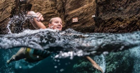 18-метров скок в най-дивата Австралия