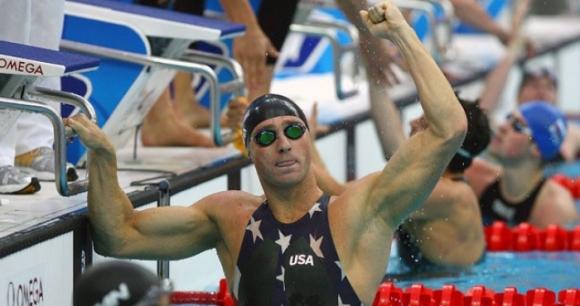 Лезак в плувната зала на славата