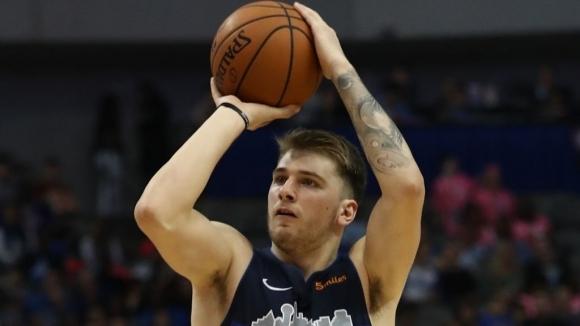 Лука Дончич: В НБА се вкарва по-лесно