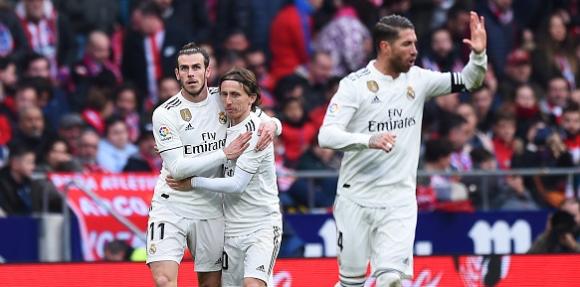 Рекорди за Бейл, Рамос и Реал след победата срещу Атлетико