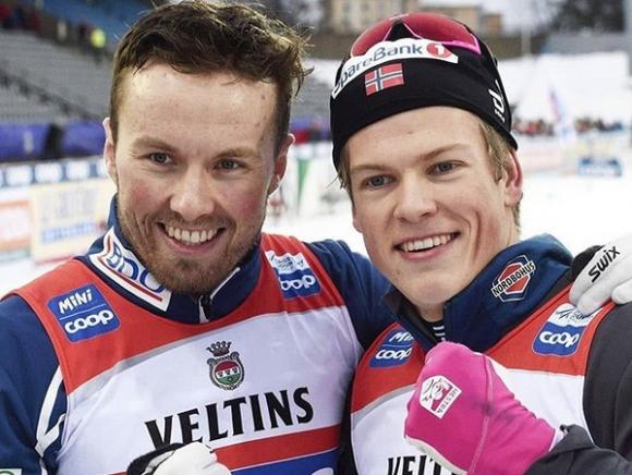 Победи за Швеция и Норвегия в отборния спринт в ски-бягането (видео)
