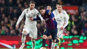 """Разменени удари: Барса и Реал Мадрид оставиха развръзката за """"Бернабеу"""" (видео+галерия)"""