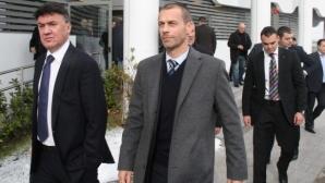 Боби Михайлов вече не е член на Изпълкома на УЕФА заради два невалидни гласа