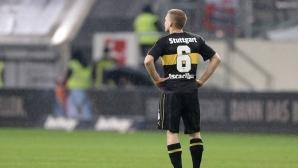 Щутгарт поведе в Бундеслигата... по загуби (видео)