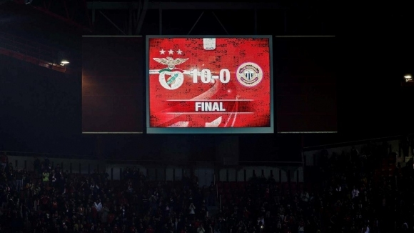 Истинска гавра! 55 години по-късно Бенфика отново вкара 10 гола в един мач (видео)