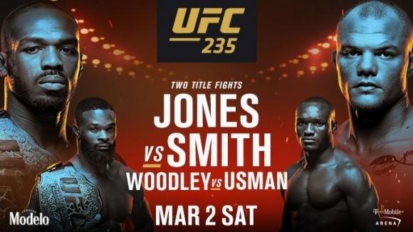 Вижте първото промо за UFC 235 - Джоунс срещу Смит