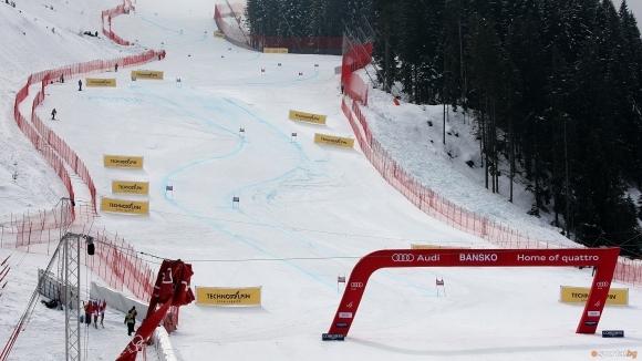 """Писта """"Жирардели"""" в ски зона Банско е затворена за туристи"""