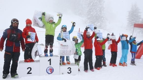 """181 деца се състезаваха за купата """"Витоша ски"""""""