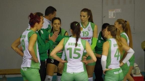 Волейболистките на Берое разгромиха Славия