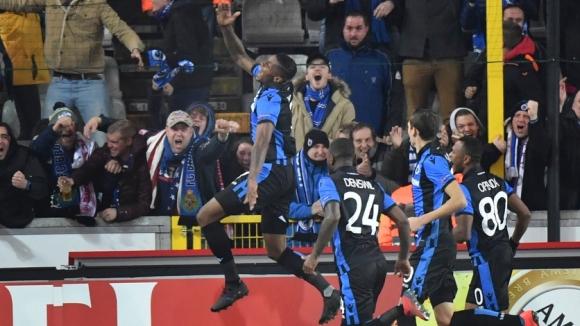 Брюж нанесе първа загуба за сезона в Лига Европа на Ред Бул Залцбург