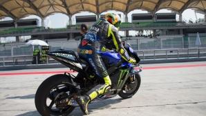 Валентино похвали скороста на Ducati