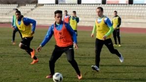 Черно море започна без двама подготовката си за мача с ЦСКА-София