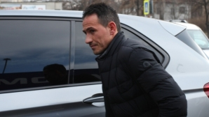 Миланов направи първа тренировка с Левски (видео)