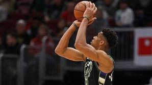 Янис взима най-много от европейците в НБА