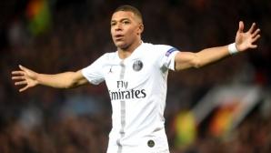 Мбапе изравни Феномена по голове в Шампионската лига