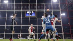 УЕФА: Голът на Аякс беше правилно отменен