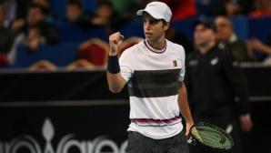 Адриан Андреев започна с впечатляваща победа в Анталия