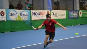 Васко Младенов приключи участието си на турнира по тенис в Тунис