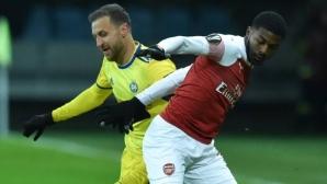 Стасевич: Победата на БАТЕ над Арсенал ще влезе в историята